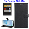 Phone Accessories Mobile Flip Cover Case For Samsung Galaxy A8 Leather Case