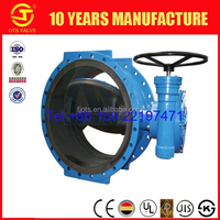 ANSI JIS DIN ISO high pressure full lined rubber seal butterfly valve