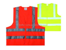 Black High Visibility Safety Vest horse riding safety vest