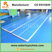 Durable Drop Stich Material Water Boards Inflatable Gym Mattress / Air Tumble Track For Training