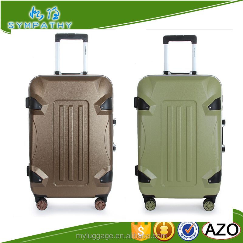2016 ABS+PC spinner hard trolley case travel bags and luggages