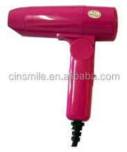 low power folder mini hair dryer JD081