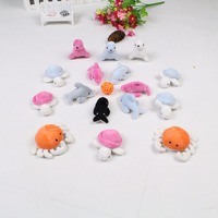 Cute sea animals soft little stuffled sea animals plush toy small for kids baby