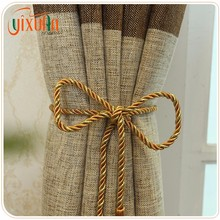 alibaba china home textile polyester check embroidery royal curtain design for home textile