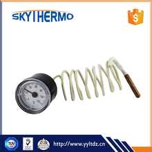 Wholesales freezer stailess steel thermometer round