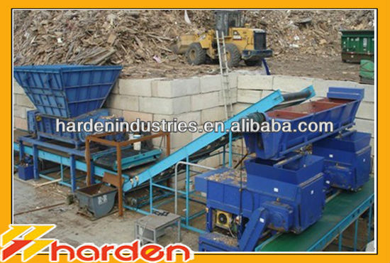 construction waste recycling line