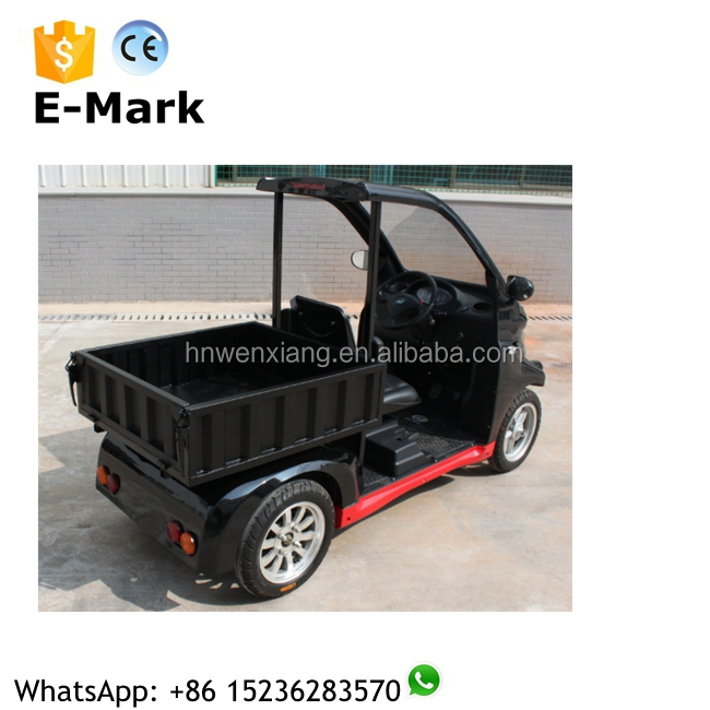 2016 China hot sale electric mini cargo pickup truck for sale