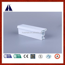 horizontal open style extruded pvc profiles float mullion for window and door