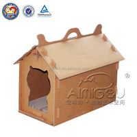 QQFactory cardboard pet house / corrugated pet house / paper pet house