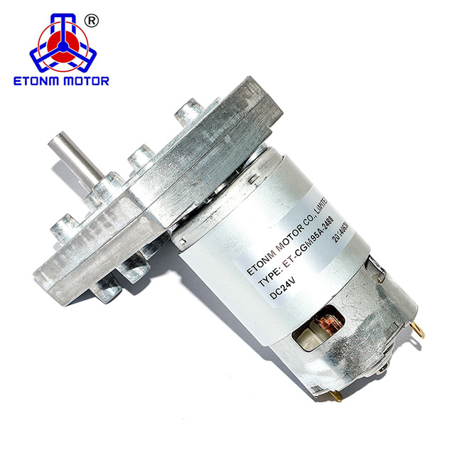 8mm shaft flat gearbox high torque 100kg dc motor