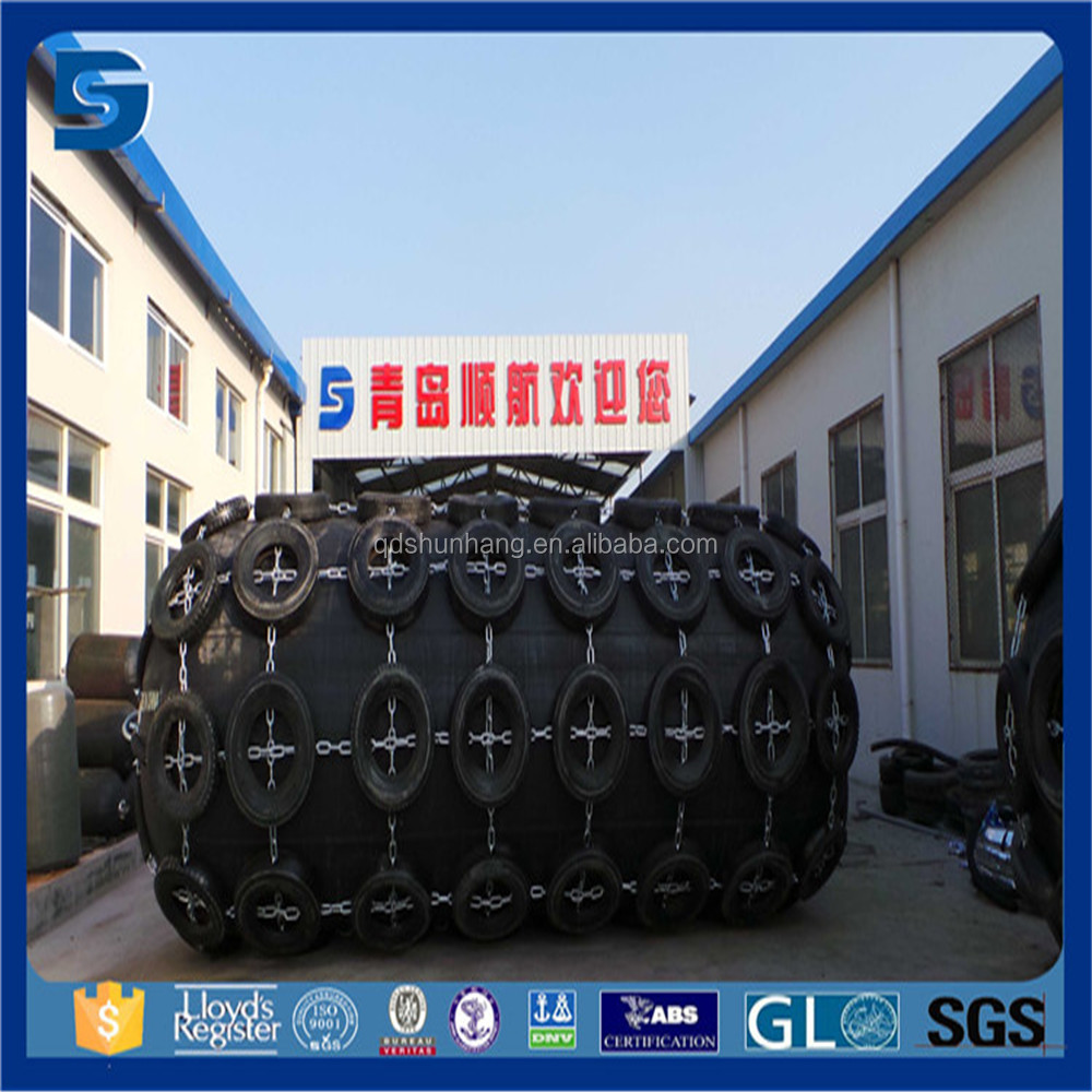 Super Cell Rubber Fender Use For Ship To Dock