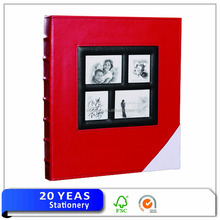 High quality talking leather photo album case