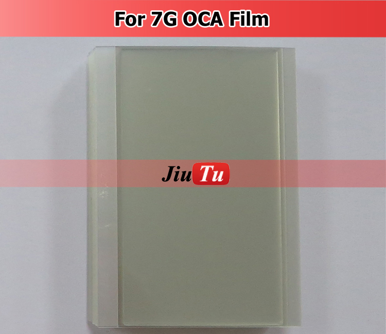 Jiutu Original OCA Film Adhesive Sheet Glue For Ipone 6 , Clear Optical Adhesive Film For Ipone 7