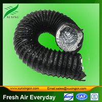 AC aluminum flexible spiral ducts