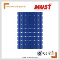 MUST POWER pv mono solar module cheap solar panel price india with TUV CE UL
