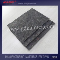 black felt pad for mattress furniture accessories