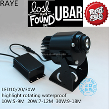 From RAYE led outdoor laser logo advertising logo projector 20w Australian power plug