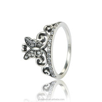 Fashion Wholesale Thailand Anniversary 925 Sterling Silver Sun Ring