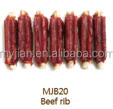 healthy dog treat beef rib brands and private label dog training treat dog snack OEM factory wholesale