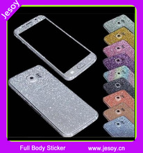 JESOY Full Body Cell Phone Case Glitter Skins For Samsung Galaxy Note 3 4