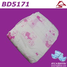 USA Pulp High Quality Competitive Price Disposable Diaper World Manufacturer from China