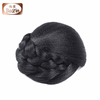 Large stock synthetic clip hair bun pieces black synthetic hair bun for black women