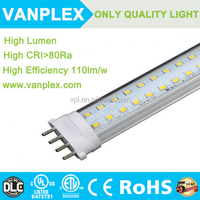2016 supper quality 15W 2g11 pll led tube with factory good price