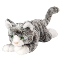 lifelike cat plush toy