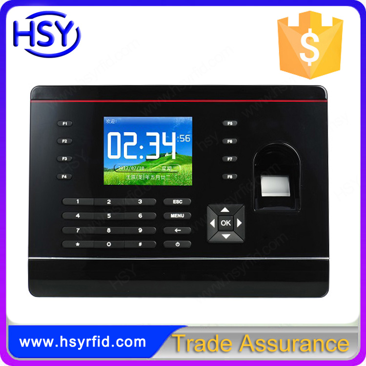Cheap Biometric Fingerprint Time Attendance Machine Price with free SDK