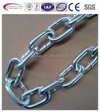 common commercial quality long link or short link chain DIN5685A/C standard link chain