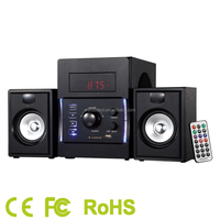airwave 2.1ch computer multimedia speakers with USB/SD/FM with CE/RoHS Certificate