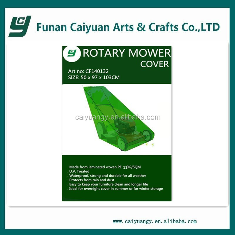 UV and waterproof garden rotary lawn mower cover