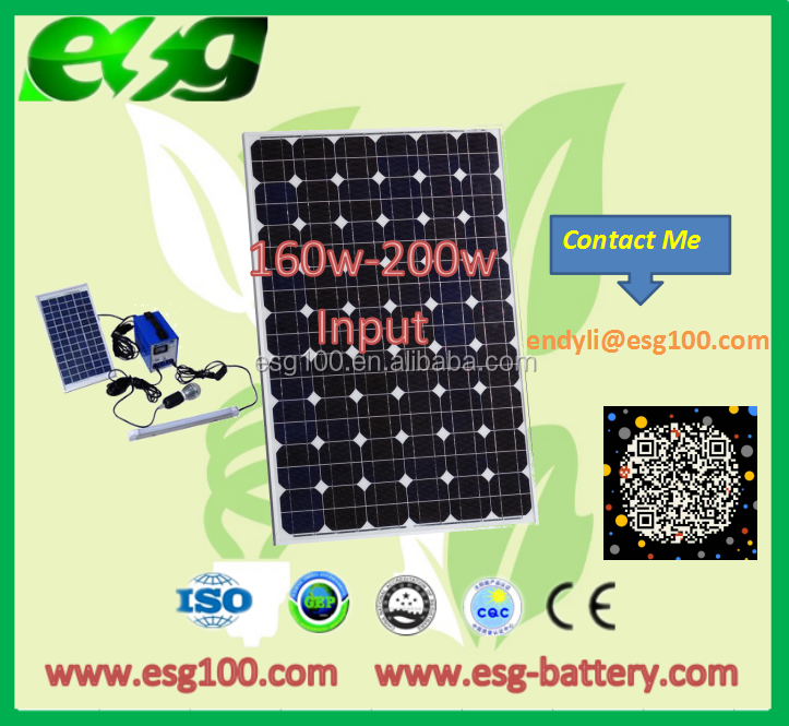 160w-200W Manufacturer From China Water-proof Monocrystalline Solar Panel Price India With Mono Solar Panel