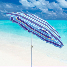 A18 outdoor sun protection solar beach umbrella with tilt for fishing