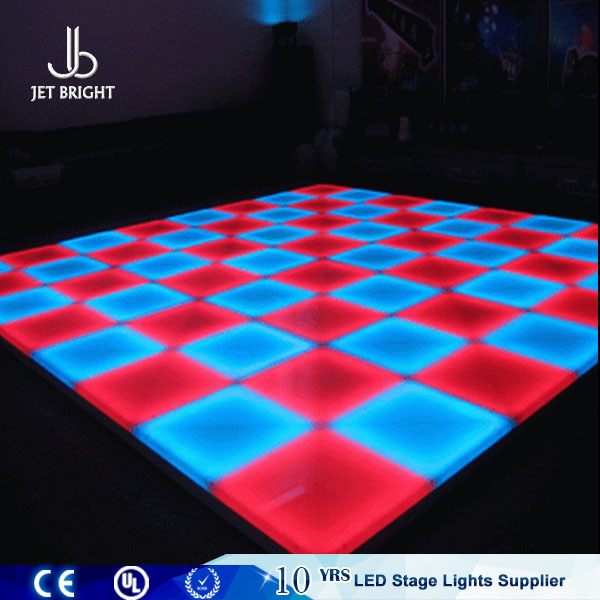 Guangzhou wholesale <strong>price</strong> 50x50 led interactive wedding dance floor