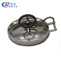 Food grade stainless steel elliptic manhole cover