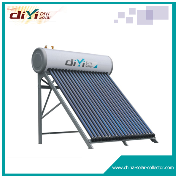 Direct or open loop active high pressurized split solar energy heaters system