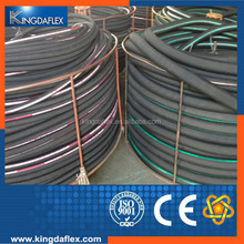 high pressure oil resistant steel wire braided hydraulic rubber hose 1sn/2sn