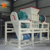 18-50hp Diesel new multifunction no pollution four shaft shredder