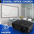 Shutter 3D projector home digital proyector dlp miracast projector with high brightness