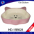 Cute pink ceramic per feed trough,cat shape bowls