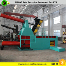 YD-4000 automatic used car scraps baler hydraulic press for car