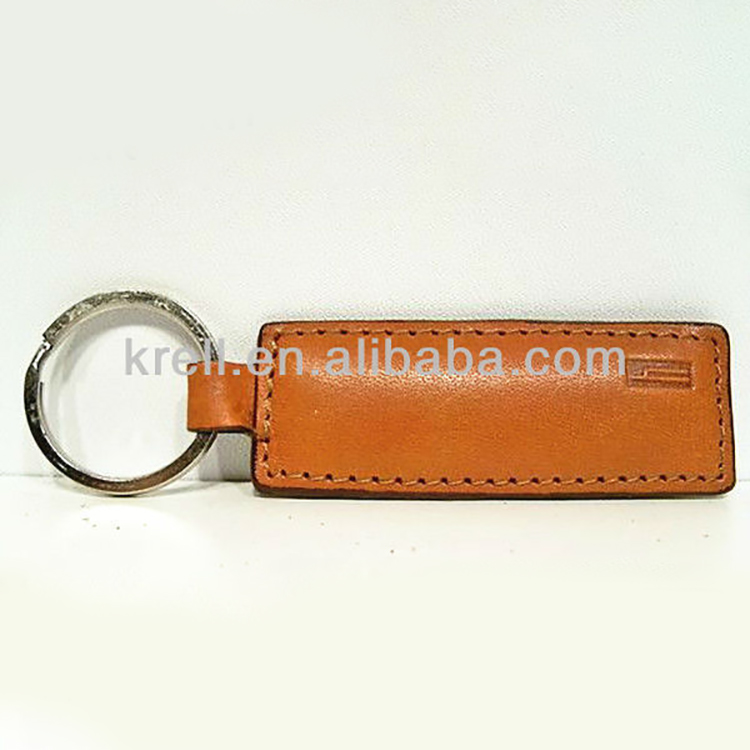 Hartmann Belting Leather Key Chain Fob Ring Keychain