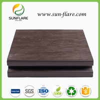 Sunflare wpc outdoor strong quality crack-resistant decking