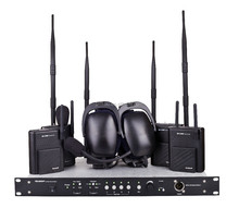 Full-Duplex Stage Lighting Audio Equipment Wireless Intercom