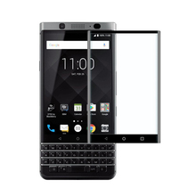 Keyone Screen Protector,9H Hardness 3D Curved Edge HD Clear Full Coverage Tempered Glass Screen Protector for Blackberry Keyone