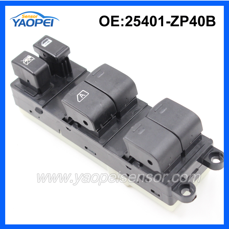 Factory Price Electric Power Window Master Switch For 2005-2007 Pathfinder 25401-ZP40B