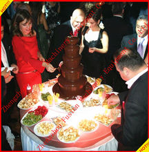 PROFESSIONAL electric chocolate fountain machine/party chocolate fountains/small chocolate fountain machine
