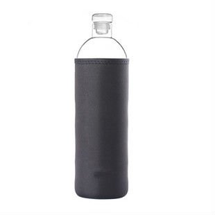 Heat resistant borosilicate glass bottle