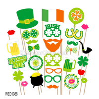St. Patrick's Day - 28 Piece Saint Patty's Day Photo Booth Props Kit